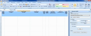 SAP HCM Org Analysis Winshuttle Excel Add-In